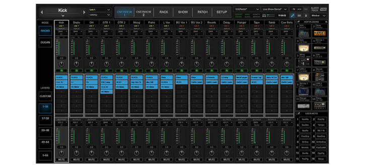 Waves, SuperRack, audio processor