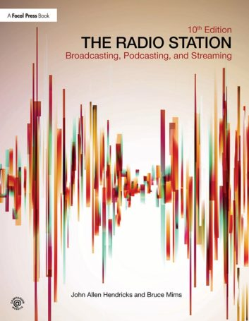 """cover of """"The Radio Station, 10th edition"""" from Focal Press"""