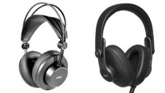 AKG 275 and AKG 371 headphones