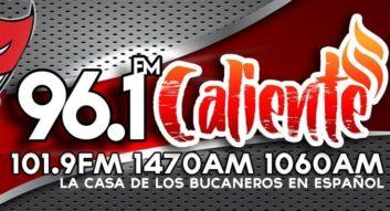 96.1 FM Caliente logo cropped