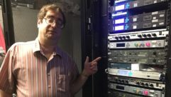 David Bialik with Telos ZIPStream R2 features