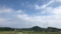 Phillystran, Kintronic, radio broadcast towers, Far East Broadcasting Company, tower suport wires