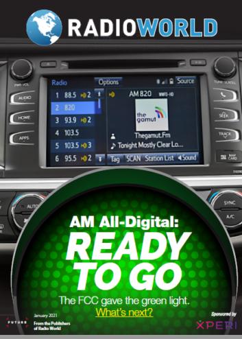 "cover of Radio World ebook ""AM All-Digital Ready to Go"""