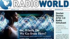 Radio World issue cover Feb 17 2021