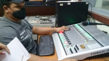 AEQ, Forum, radio broadcast consoles, digital audio consoles, Radio Granma
