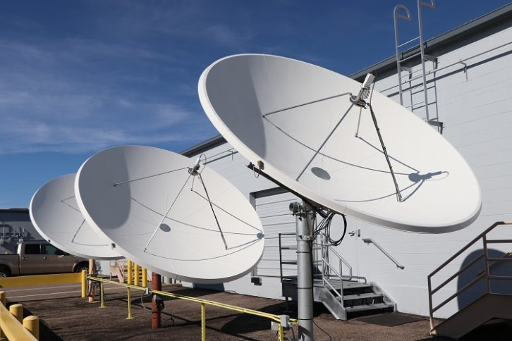 C Band dishes