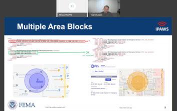 IPAWS, FEMA, EAS, Amazon Web Services, AWS, Mark Lucero