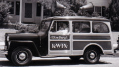 KWTX(AM), M.N. Buddy Bostick, Willys Jeep station wagon, Waco Texas