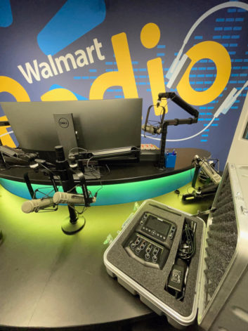 Photo of Comrex ACCESS NX Portable with Mixer and traveling case coutesy of Bo Woloszyn with Walmart Radio