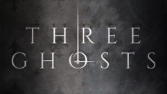 """Graphic for the """"Three Ghosts"""" podcast"""