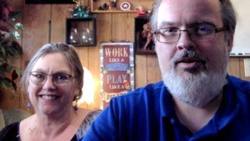 Debbie Kribell and Johnny Schad