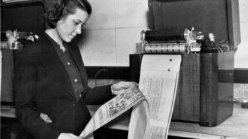 St. Louis Post-Dispatch, newspaper fax, radio facsimile, W9XZY